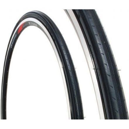 "Kenda Koncept 24"" Bike Tyre 24x1 Cycle Tyre All Black 25-520"